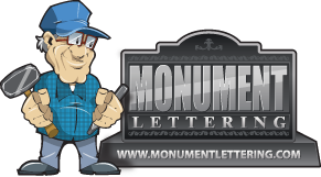 Monument Lettering